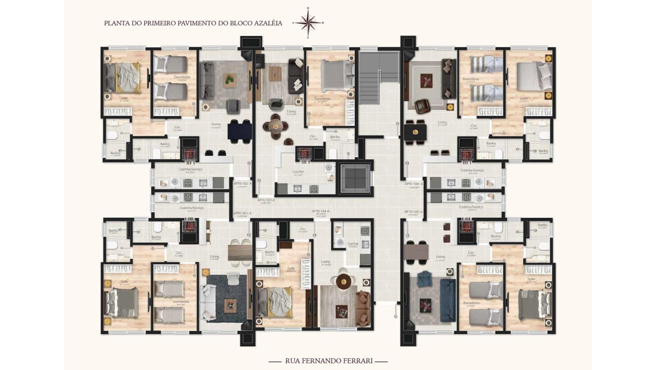 Residencial Winter Garden